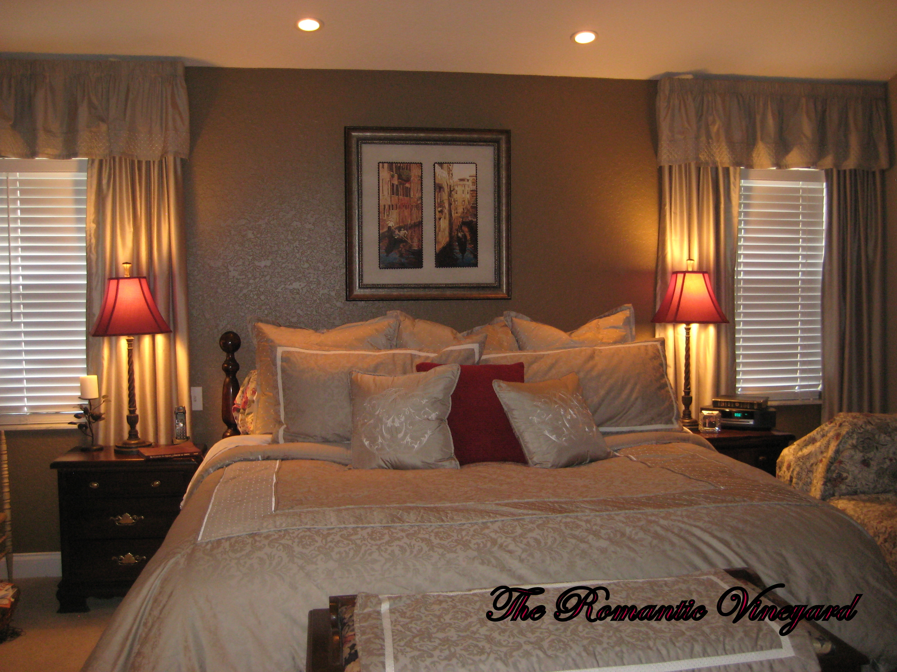 Romantic master bedroom paint ideas - Freebie Friday Master Bedroom Redux Quatre The Romantic Vineyard