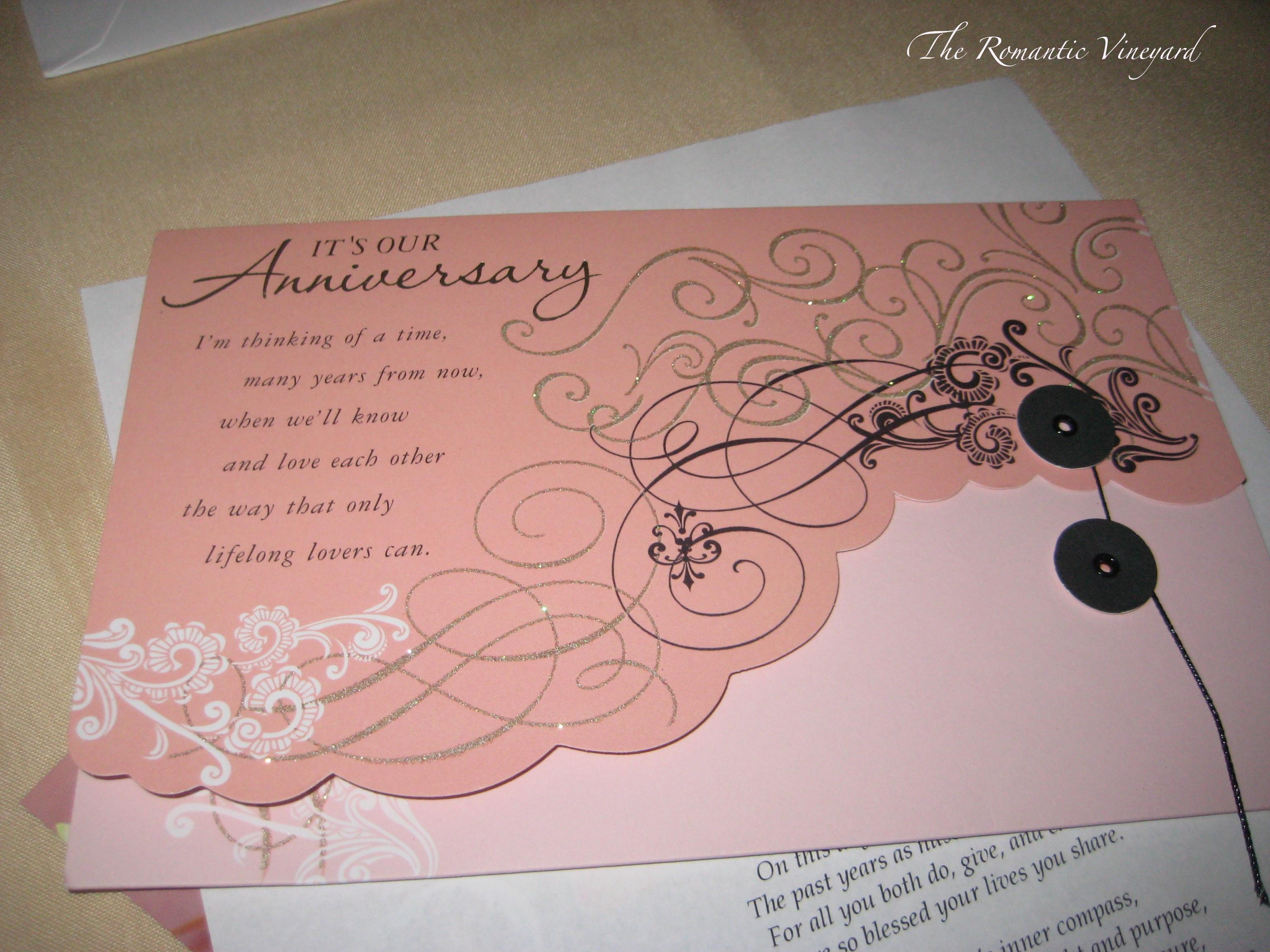 Mark your calendar the romantic vineyard