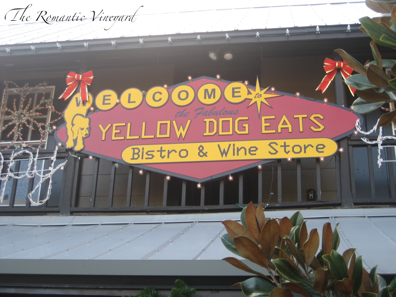 Yellow Dog Cafe Lunch Menu