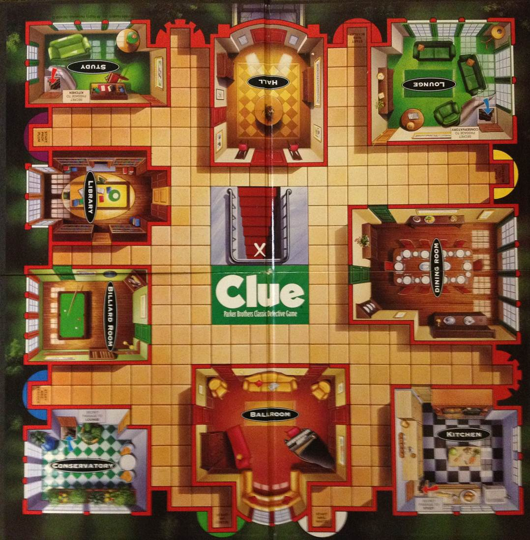 Clue Dining Room