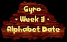 Gyro - week 3