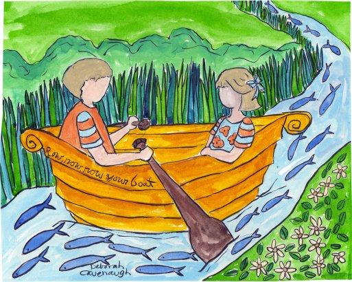 Watercolor Print by Deborah Cavenaugh $30