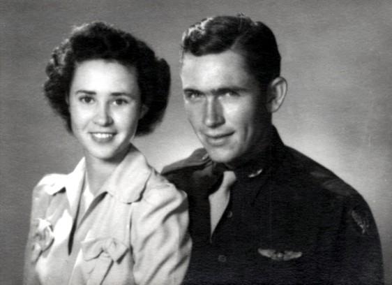 Peggy and Billie D. Harris