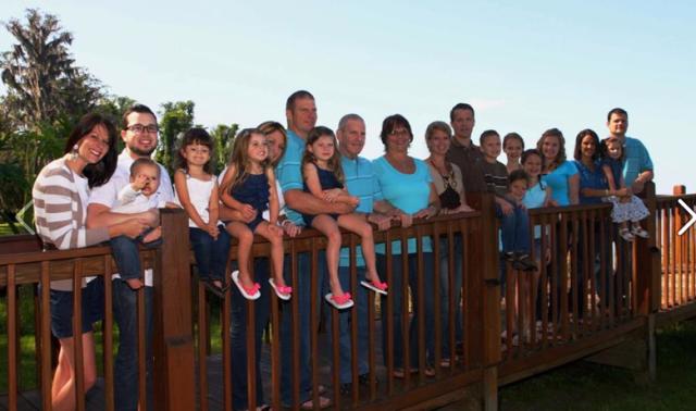 The Ballinger Family 2012
