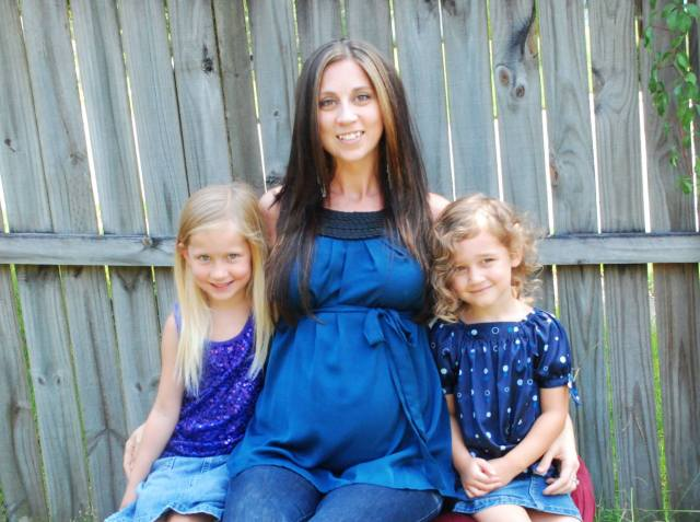 Our Ashley and her two precious girls-Bristol and Willow (Vito not pictured) :-)