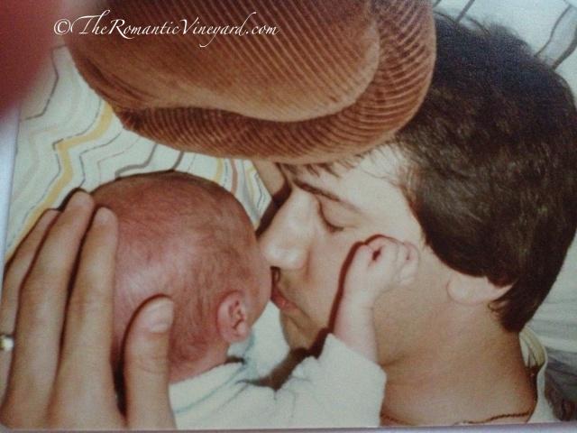 Tom with Jason 1982
