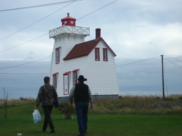 Prince Edward Island lighthouse, Canada