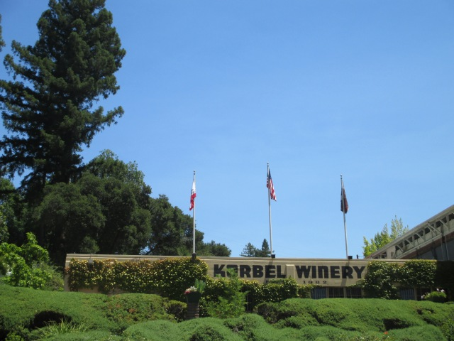 Our visit to Korbel Winery - Home of America's Champagne.