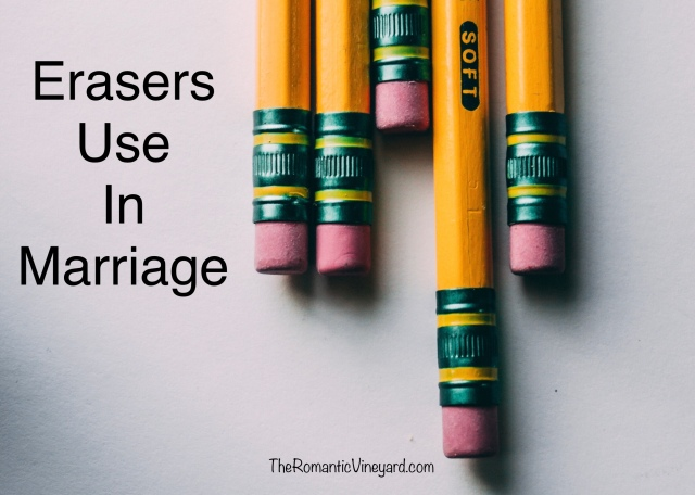 Are you an eraser or a highlighter in your marriage? Both are useful tools provided we are using them in the best way for our spouse.