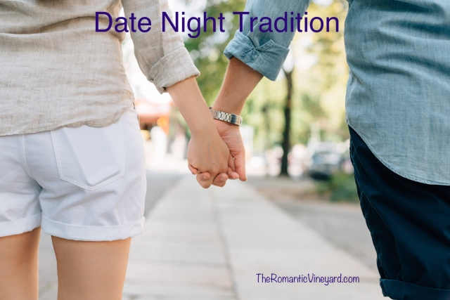 We celebrated our 40th anniversary in February. And for most of those years we have kept a tradition--a favorite tradition.