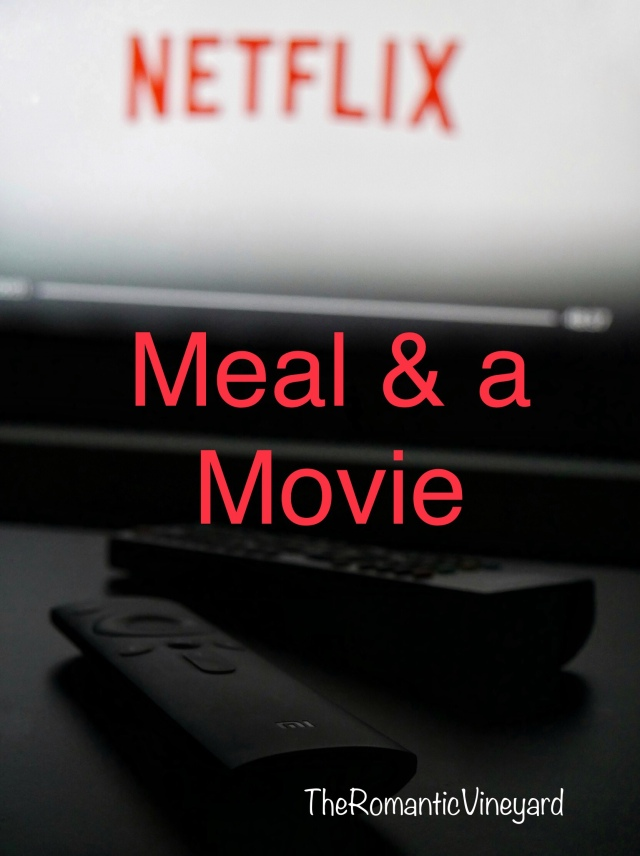 Today for our five favorites we want to provide a fun way to enjoy a meal and a movie at home. The idea is to take a movie you want to watch and prepare a meal around something from the story.