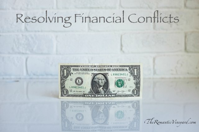 Today is Tax Day in American. Money problems in marriage cause much conflict. How to overcome this tension is not as difficult as you may think.