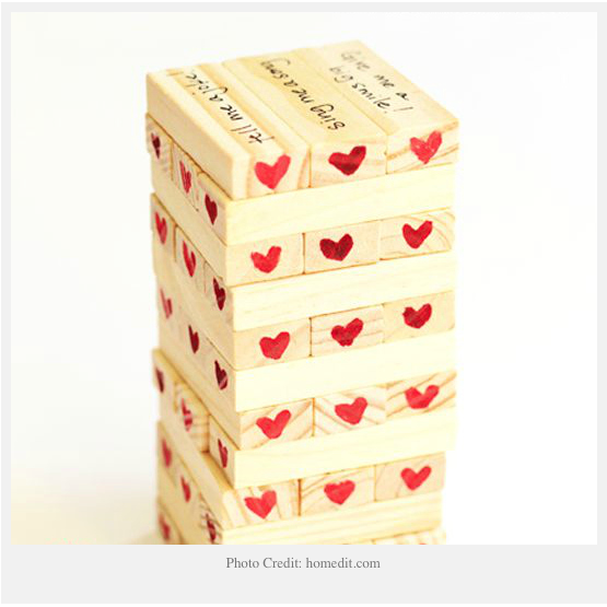 Jenga will never be played the same again once you and your spouse play it this way.
