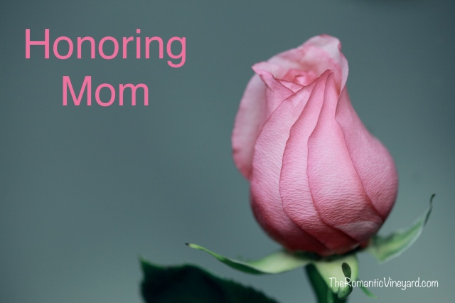 Sunday is Mother's Day in the USA. It's a day when we purpose to tell mom all the things we appreciate about her. Some buy flowers, send cards or cook her favorite meal. It's a nice tradition meant to make much of the way mom loves and cares for us the other 364 days of the year.My Mom passed away in 2012. My Mother-in-law passed away in 2017. We can no longer pick up the phone and call, but our thoughts are still full of appreciation for both of them.