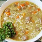 Hearty Bean and Barley soup recipe